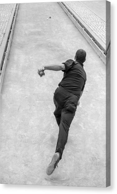 Bocce Ball Canvas Print