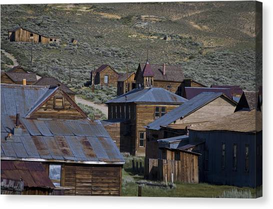 Canvas Print featuring the photograph Bodie 31 by Catherine Sobredo