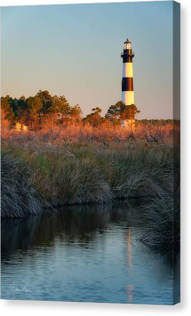 Bodie Island Light 2589 Canvas Print