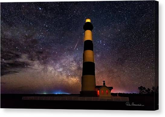 Bodie Light And Galactic Core 4994 Canvas Print