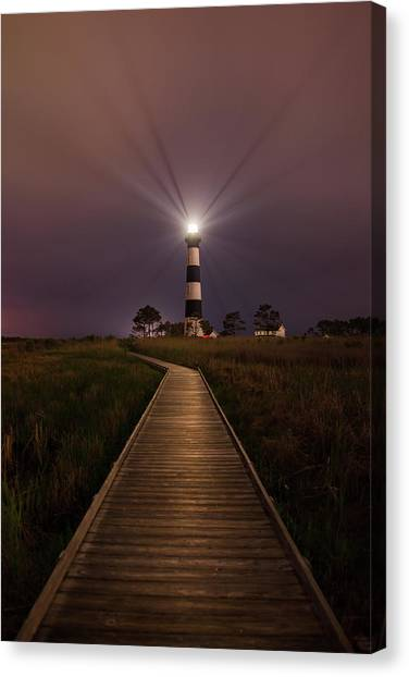 Bodie Lighthouse  Canvas Print