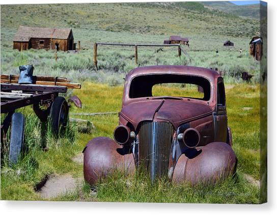 Bodie Rust Canvas Print