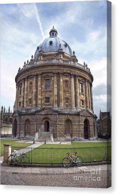 Academic Art Canvas Print - Bodlien Library Radcliffe Camera by Jane Rix