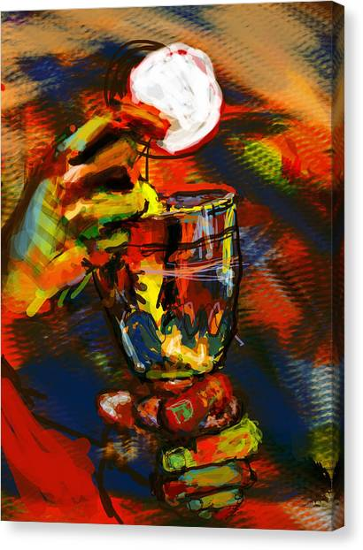 Priests Canvas Print - Body And Blood by James Thomas