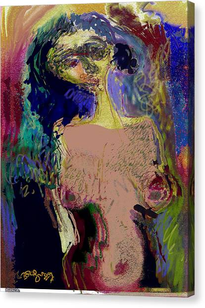 Body And Scenes Canvas Print by Noredin Morgan