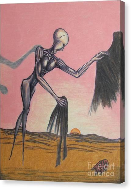Body Soul And Spirit Canvas Print
