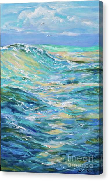 Bodysurfing North Canvas Print