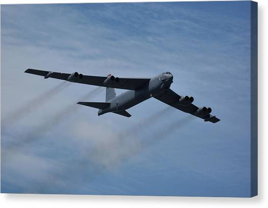 Boeing B-52h Stratofortress Canvas Print