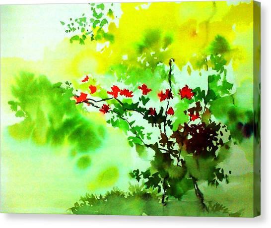 Boganwel Canvas Print