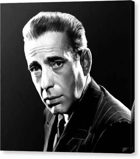 Maltese Canvas Print - Bogart by Paul Tagliamonte