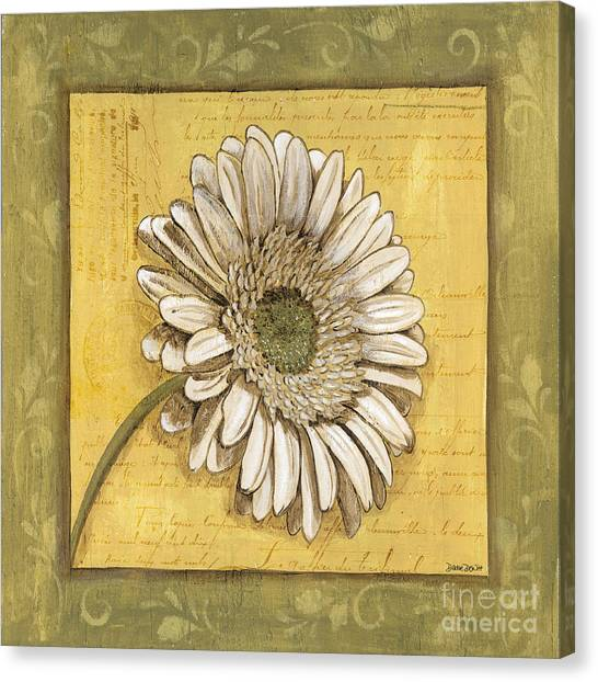 Bloom Canvas Print - Bohemian Daisy 1 by Debbie DeWitt