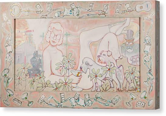 Bohemian Grove Bar Canvas Print
