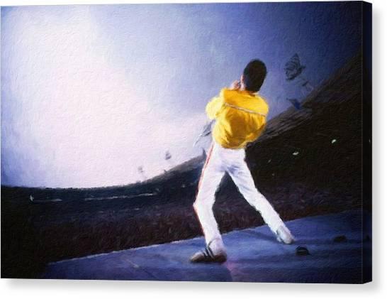 Bohemian Rhapsody Canvas Print by Vincent Monozlay