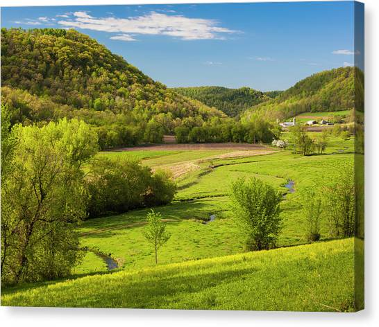 Bohemian Valley Canvas Print