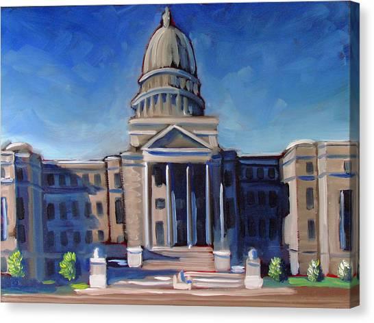 Boise Capitol Building 02 Canvas Print