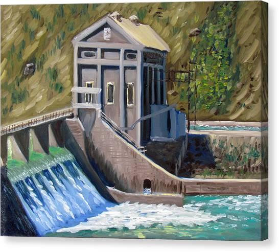 Boise Diversion Dam Canvas Print
