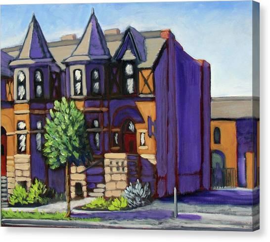 Boise  Idaho St Canvas Print