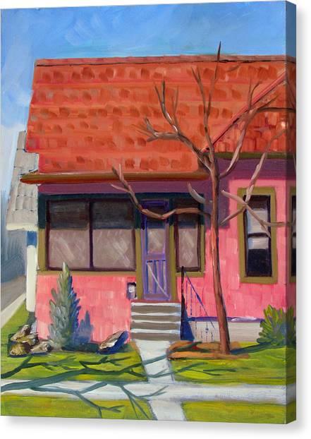 Boise Ridenbaugh St 02 Canvas Print