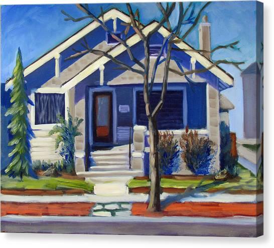 Boise Ridenbaugh St Canvas Print