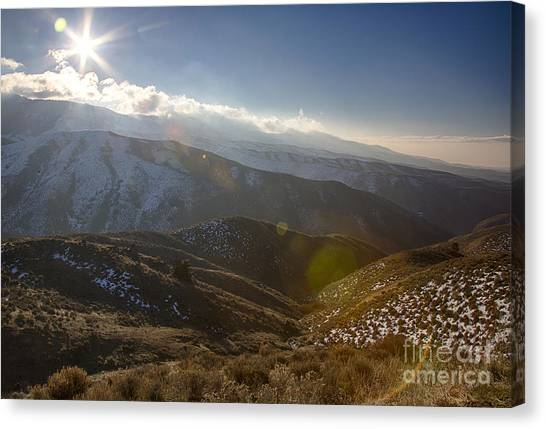 Boise National Forest Canvas Print - Boise Ridge by Idaho Scenic Images Linda Lantzy