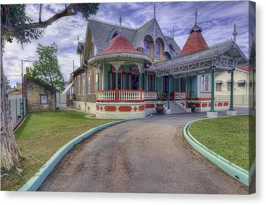 Boissiere House Canvas Print