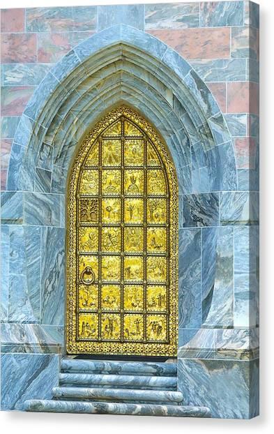 Bok Tower Entrance  Canvas Print