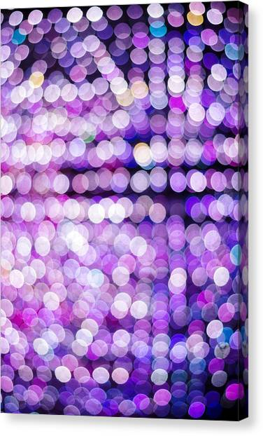 Diamond Dust Canvas Print - Bokeh  by Jijo George
