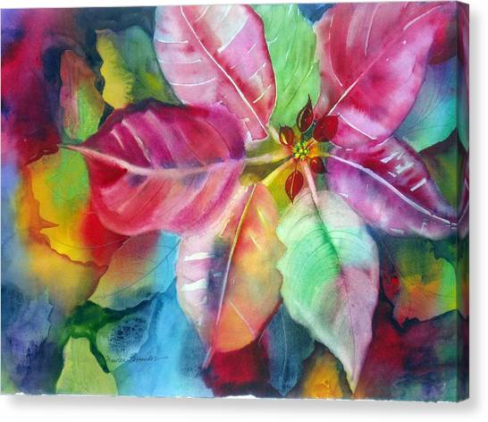 Bold Bloom Canvas Print by Maritza Bermudez