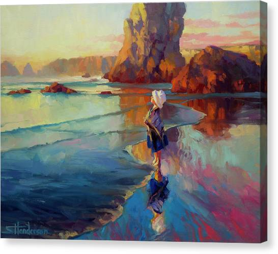 Coast Canvas Print - Bold Innocence by Steve Henderson