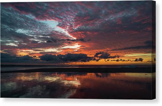 Bold Sunrise Delray Beach Florida Canvas Print