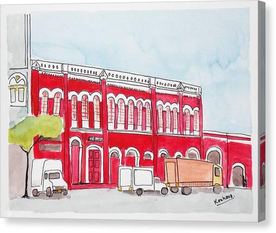 Bombay Samachar  Canvas Print