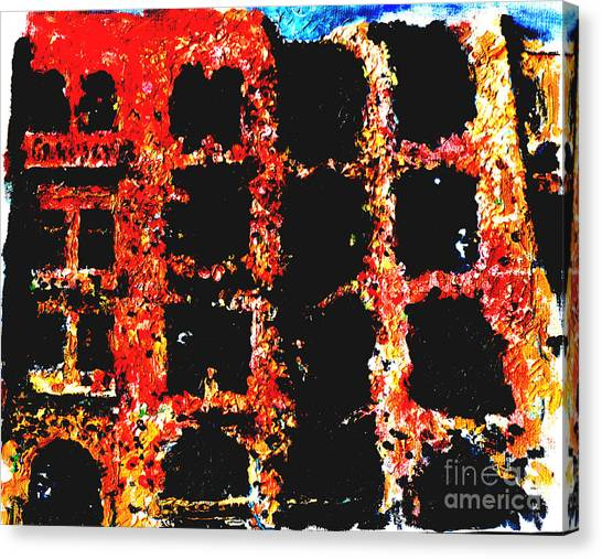 Bombed Out  Canvas Print by Andy  Mercer
