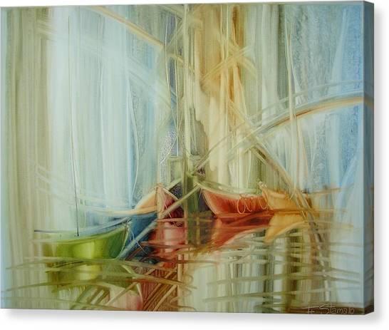 Bon Voyage Canvas Print by Fatima Stamato