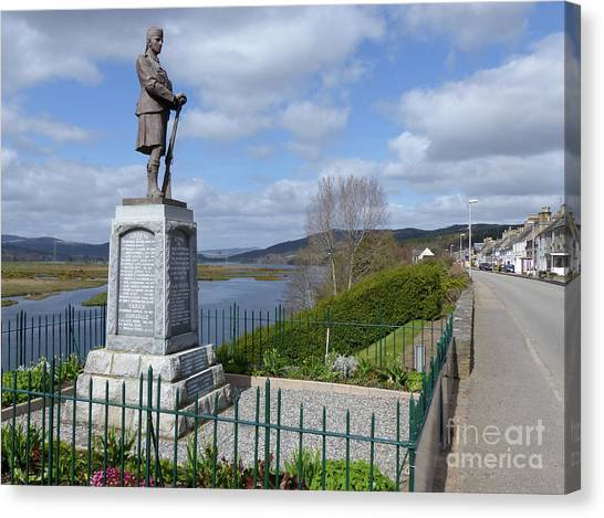 Bonar Bridge And The Kyle Of Sutherland Canvas Print by Phil Banks