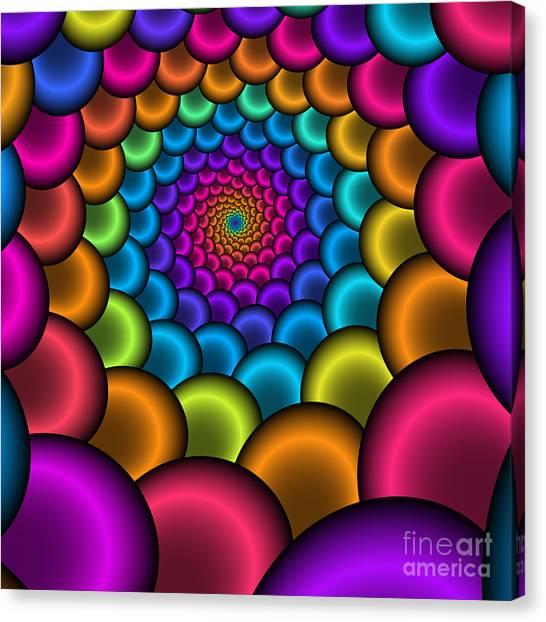 Bonbon Funnel 221 Canvas Print