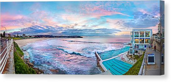 Degrees Canvas Print - Bondi Beach Icebergs by Az Jackson