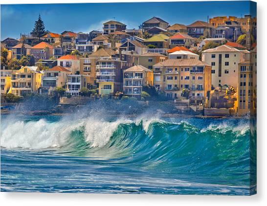 Bondi Waves Canvas Print