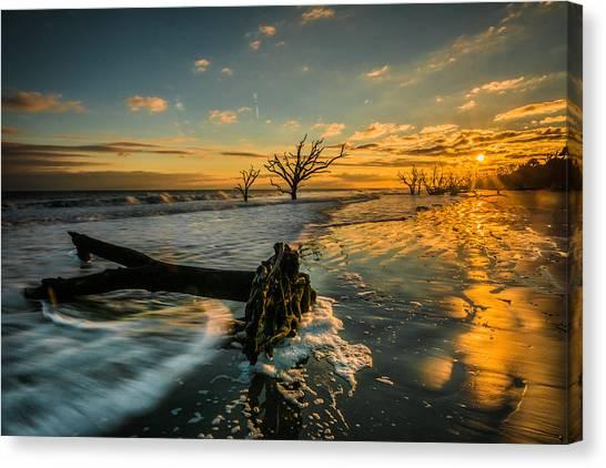 Boneyard Sunset Canvas Print