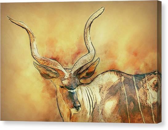 Bongos Canvas Print - Bongo by Jack Zulli