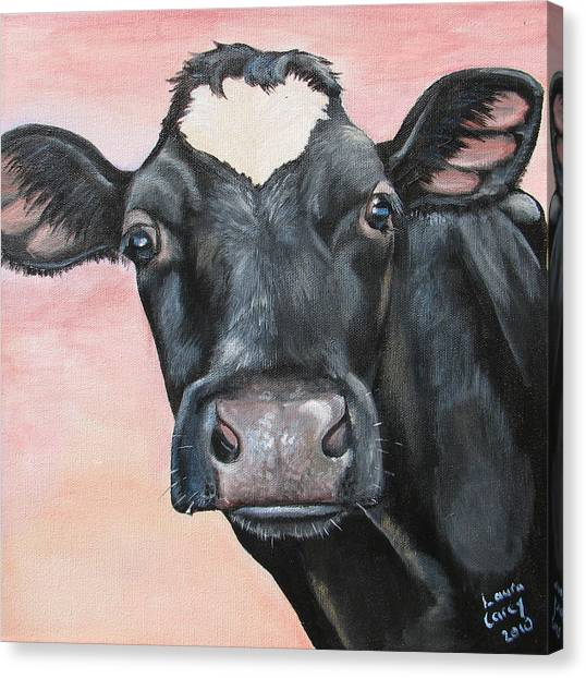 Bonnie Bell Canvas Print by Laura Carey