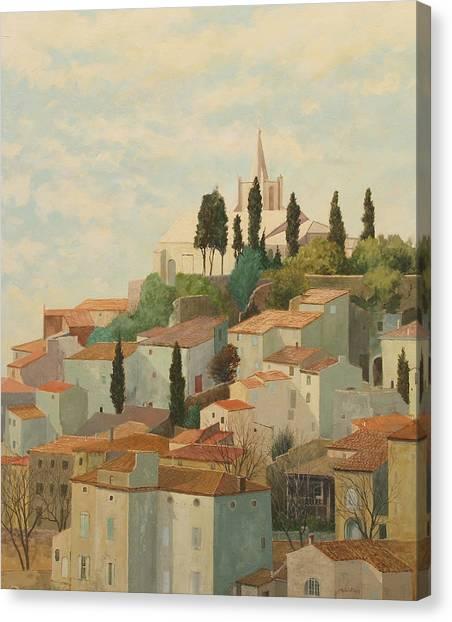 Bonnieux Vaucluse Canvas Print