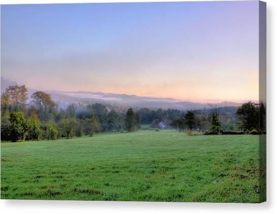 Bonnyvale Field Canvas Print