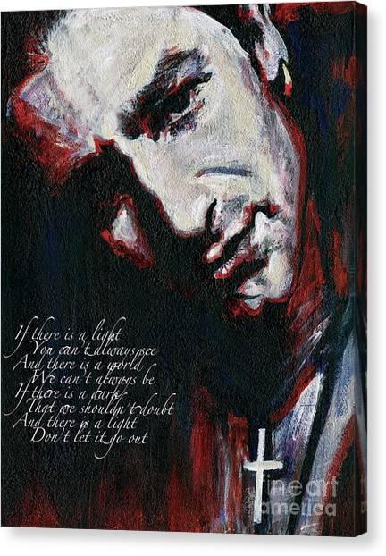 Bono - Man Behind The Songs Of Innocence Canvas Print