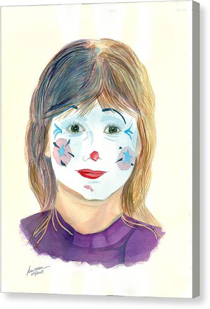 Bonsette - IIi  Inner Child Canvas Print by Joel Deutsch