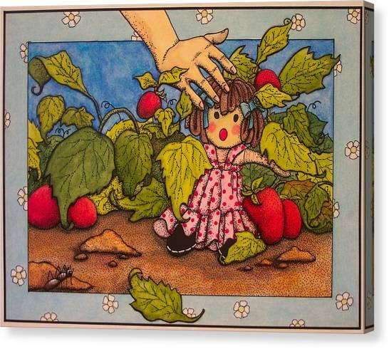 Book Illustration Canvas Print by Victoria Heryet