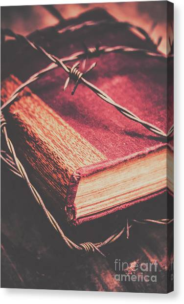 Lock Canvas Print - Book Of Secrets, High Security by Jorgo Photography - Wall Art Gallery