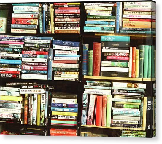 Book Shop Canvas Print