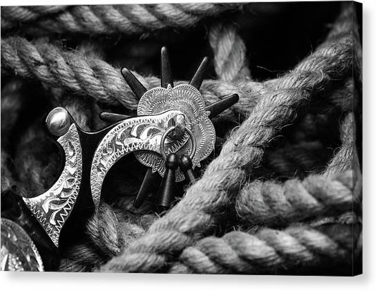 Lassos Canvas Print - Boot Spur by Tom Mc Nemar