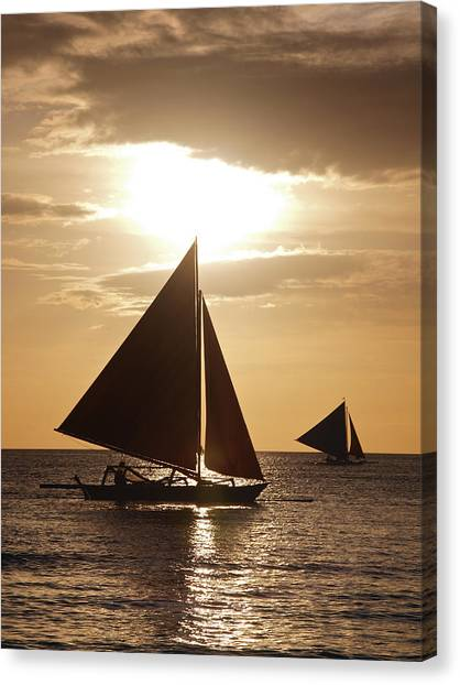 Boracay Philippines A 169 Canvas Print by Per Lidvall