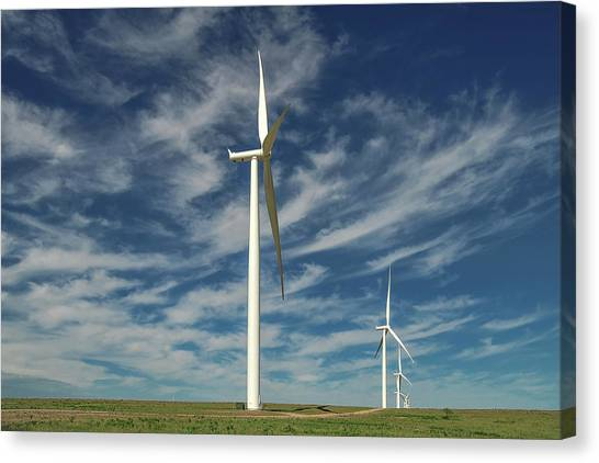 Borger Turbines Canvas Print
